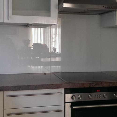 glas - Lackiertes Glas Küchenrückwand